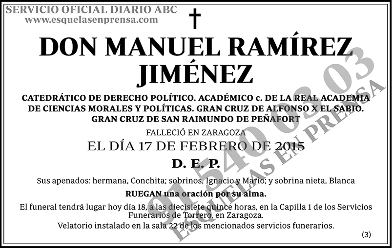 Manuel Ramírez Jiménez